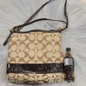 Coach very large signature C purse